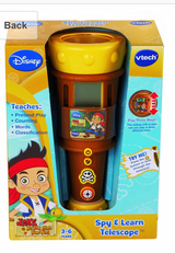 Jake and the Neverland Pirates Spy and Learn Telescope by VTech - Disney in Fort Campbell, Kentucky