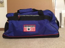 Reduced/Bllue Coverse gym bag/reduced in Belleville, Illinois