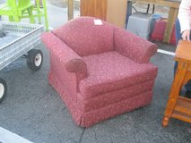 Burgundy Fabric Chair (1416-196) in Camp Lejeune, North Carolina