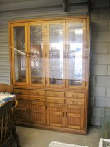 Kincaid Wood Dish Cabinet/ Hutch (2196-112) in Camp Lejeune, North Carolina