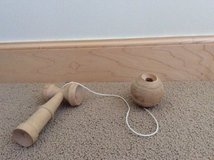 Japanese toy- Kendama Natural ball and cup toy in Okinawa, Japan