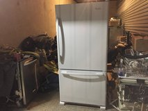 Whirlpool top mount fridge with freezer drawer in Tomball, Texas