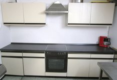 Complete Kitchen with Cabinets and 220v Stove in Ramstein, Germany