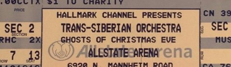 Trans-Siberian Orchestra Tickets ( 7th Row from Stage) LOWERED PRICE!! in Batavia, Illinois