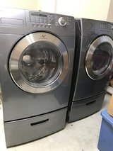 Used Samsung front loader washer and dryer in Conroe, Texas