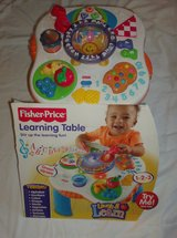 FISHER PRICE LEARNING TABLE in Glendale Heights, Illinois