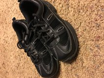 Oshkosh shoes - young boy in Fort Campbell, Kentucky