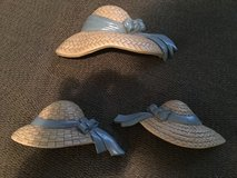 Hat trio- wall decor in Fort Campbell, Kentucky