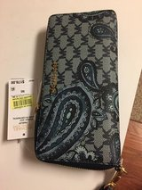 Brand New 1/2 Price Michael Kors Jet Signature Travel Continental Wallet/Wristlet in Conroe, Texas
