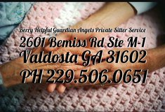 Private Sitter Services in Moody AFB, Georgia