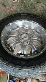 33X12.5R20 Moto Metal Rims with Toyo tires still in good condition Off GMC 4 x 4 Truck in Cleveland, Texas