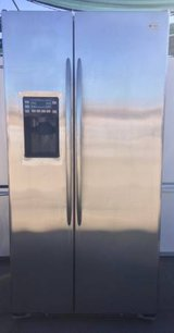 GE Profile Stainless Steel Fridge in Temecula, California