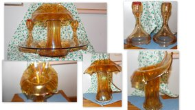 4 Piece set of Carnival glass/ immaculate condition in Eglin AFB, Florida