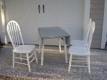 Drop Leaf Dining Table and 4 chairs in Beaufort, South Carolina