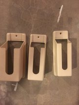 Set of three kitchen/cabinet storage supply holders in Lockport, Illinois