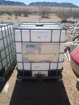 250gal water totes in Yucca Valley, California
