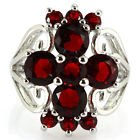 New - Garnet Silver Ring - Sizes 6 and 7 in Alamogordo, New Mexico