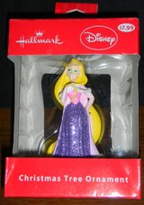 Retired Disney Princess Tangled Rapunzel Christmas Tree Ornament Sparkly in Houston, Texas
