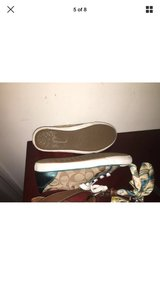 authentic coach purse and shoes size 7 turquoise in Camp Lejeune, North Carolina
