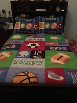 Boys sports bedding in Batavia, Illinois