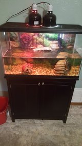 30 gallon with stand and all the accessories in Lawton, Oklahoma