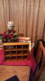Wooden Display Shelf Cabinet in Fort Bliss, Texas