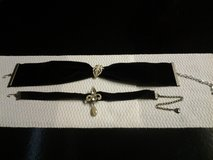 Black Velvet Ribbon Chocker_2 (price each) in Eglin AFB, Florida