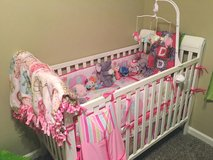 Baby Crib toddler bed and mattress in Lawton, Oklahoma