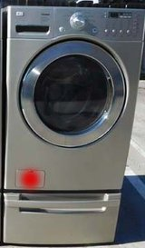 FRONT LOAD LG TROMM WASHER- TAN WITH WARRANTY(FINANCING) in Vista, California