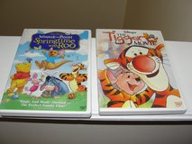 "DISNEY'S ""THE TIGGER MOVIE"" ""SPRINGTIME WITH ROO"" WINNIE THE POOH DVDS in Camp Lejeune, North Carolina"