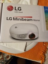 LG Minibeam Nano with CD; Cords; remote. in Spangdahlem, Germany