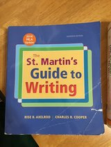 St. Martin's Guide To Writing (CMC English Class) in Yucca Valley, California