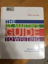 The St. Martin's Guide to Writing 10th Edition (Hard cover almost new) in Yucca Valley, California