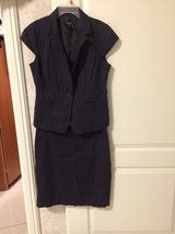 Ann Taylor Blue Pin Stripe Lined Siiy in Bolling AFB, DC