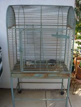 Parrot cage in Oceanside, California
