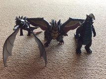 Toy dragon action figures in Okinawa, Japan