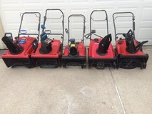 L@@K Toro & Honda Snowthrowers; 221ZQE,3650,2450,180,826LE,powerlites,HS520 ETC. in Sugar Grove, Illinois