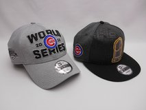 Lot Of 2 Chicago Cubs World Series Locker Room Cap Hat in Batavia, Illinois