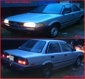 1990 Toyota Corolla - Runs - and is in fair condition, needs TLC and would be a nice little car ... in Warner Robins, Georgia