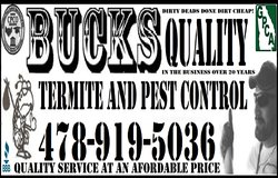BUCKS QUALITY TERMITE AND PEST CONTROL in Warner Robins, Georgia