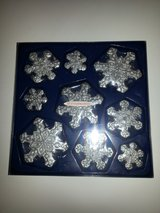 Stonia Creations Silver Glitter Snowflake Floating Candles - NIP! in Bartlett, Illinois