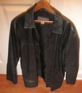 Gently Worn Ladies Leather Jacket - Size Large in Aiken, South Carolina