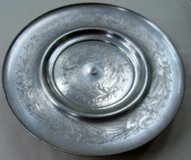 "Vintage Hammered Aluminum ""Hand Wrought Aluminum"" Lazy Susan in Aiken, South Carolina"