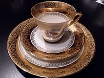 Bavaria tea cup saucer plate set in Ramstein, Germany