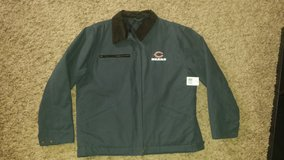 ***REDUCED*** Men's size M-L bears NFL jacket brand new tags in Joliet, Illinois