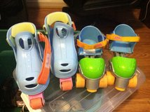 Kids Grow with Me Adjustable Skates (2 pr) in Bolling AFB, DC