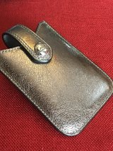 EUC COACH brand leather business-card, lipstick, or glasses case; was $1... in Glendale Heights, Illinois