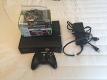 Xbox 360 with 8 games in San Clemente, California