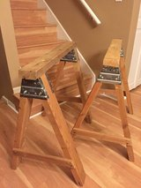 Homemade Solid Wood Sawhorse in Naperville, Illinois