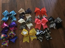 Ready made cheer bows in Oceanside, California